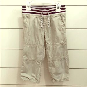 Pants with cozy lining
